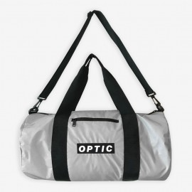 STND Sport Bag - Glow In The Dark Logo and Reflective Fabric - Grey