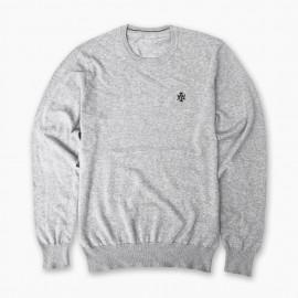 AT Sweater Basic Logo Grey